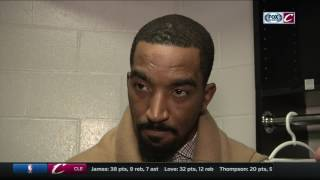 J.R. Smith knows Warriors are streaking as much as Cavs in NBA playoffs