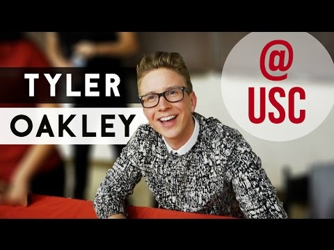 MEETING TYLER OAKLEY AT USC | College Weekly Vlog #15