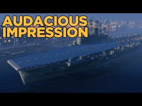 Audacious Impression - World of Warships