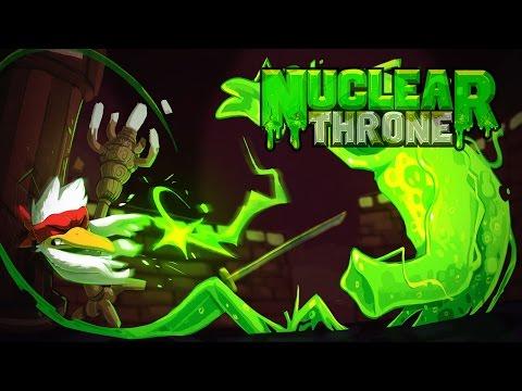 PROBANDO LA ESPADA NEGRA DE CHICKEN | Nuclear Throne Gameplay Español