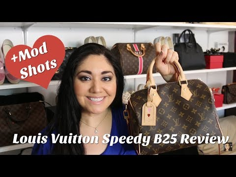 Louis Vuitton Speedy 25 Bandouliere  Review