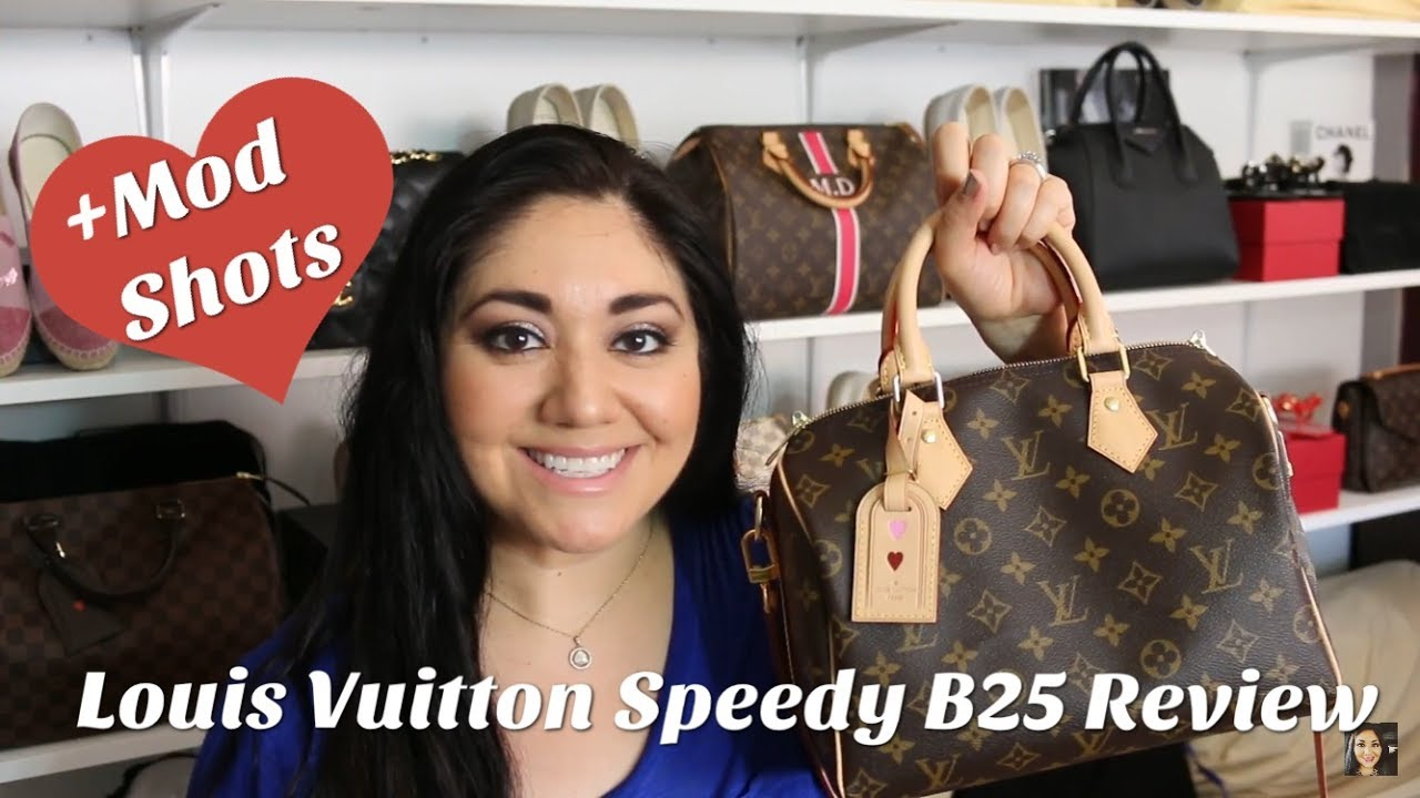 8a234d6fa49 Louis Vuitton Speedy 25 Bandouliere Review - YouTube