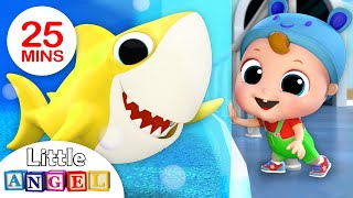 Hi Baby Shark, Let's Do the Baby Shark Dance! Nursery Rhymes by Little Angel