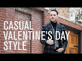 Casual Valentine's Day Date Outftit Idea - He Spoke Style