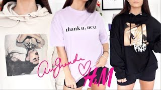 H&M x Ariana Grande TRY ON HAUL !!