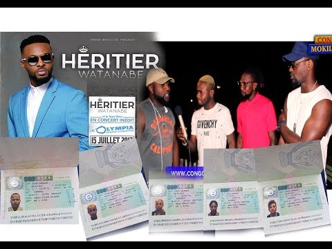 Exclusivité: Héritier Wata nde makambu célébration ya visa ya la team wata na Paris