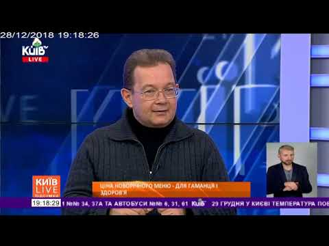 Телеканал Київ: 28.12.18 Київ Live Підсумки 19.20