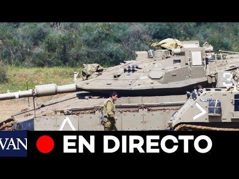 [EN DIRECTO] Israel Despliega Sus Tanques En La Frontera Con Gaza
