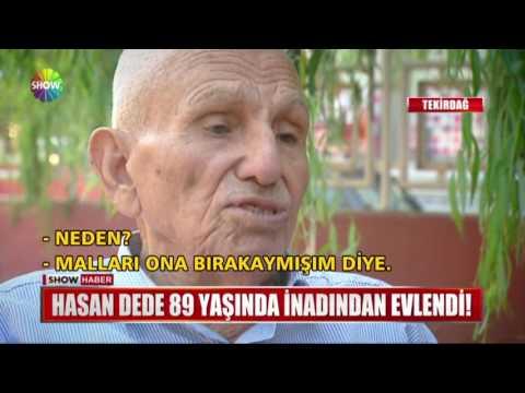Hasan Dede 89 yaşında inadından evlendi !