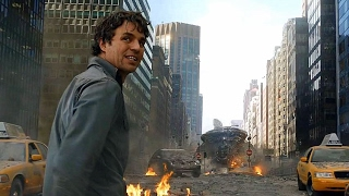 "The Avengers - ""I'm Always Angry"" - Hulk SMASH Scene - Movie CLIP HD thumbnail"