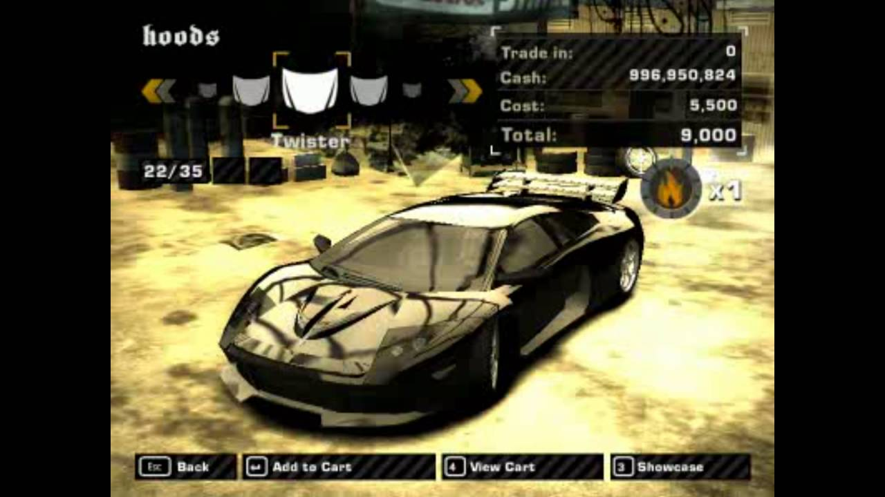 Need For Speed Most Wanted (2005) | Car Customization ...