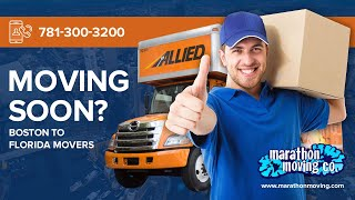 Boston to Florida Movers | 7813003200 | Marathon Moving & Storage