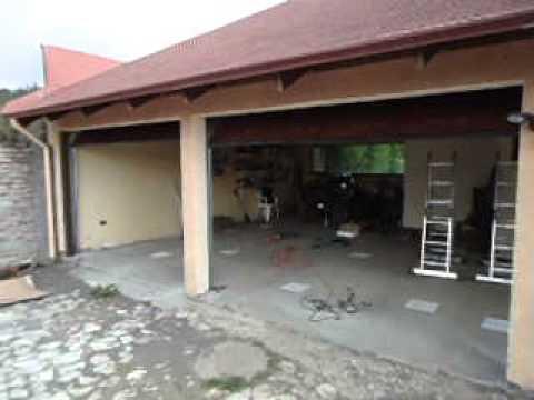 Portones para garage americanos youtube for Portones para garage