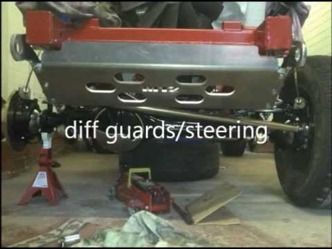 landrover discovery 4x4 off roader build space frame