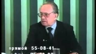 """Редкое интервью А. А. Зиновьева телеканалу """"Русь"""" (1997)"""