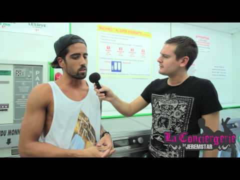 Stefan (Secret Story 8) dans la laverie de Jeremstar - INTERVIEW