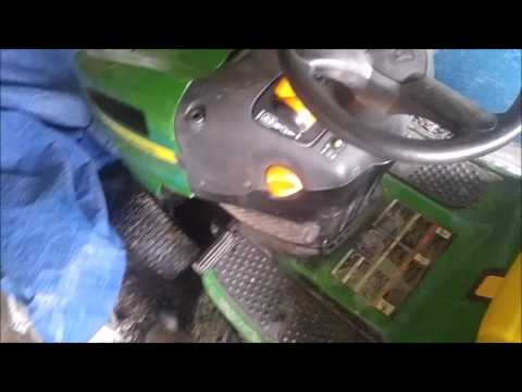 How to Disable Seat Safety Switch Engine Shutoff on John Deere LA100 Riding  Lawnmower