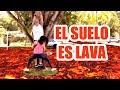 El Suelo es Lava ! Dejé al Pipi Sin Pantalón LOL - The Floor is Lava Challenge - SandraCiresArt