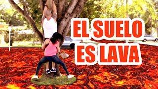 El Suelo es Lava ! Dejé al Pipi Sin Pantalón LOL - The Floor is Lava Challenge - SandraCiresArt thumbnail