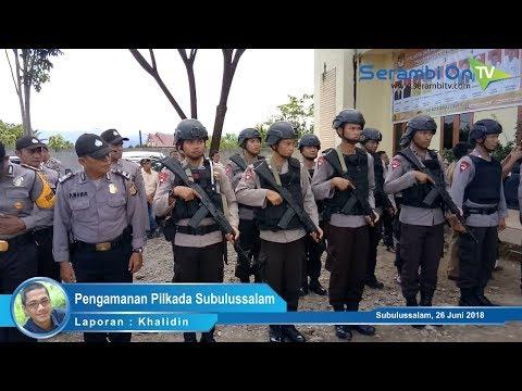 Pilkada Subulussalam, Kapolda Aceh Periksa Langsung Kesiapan Pasukan