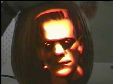 Carving Frankenstein Into A Pumpkin Youtube