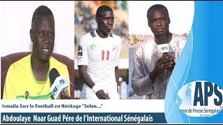 "Ismaila Sarr le Football en Héritage ""PROCHE"""