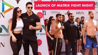 Tiger Shroff Sister Krishna Shroff @Launch of Matrix Fight Night 2019