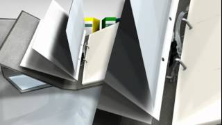 Leitz 180º Lever Arch File - 20% faster filing