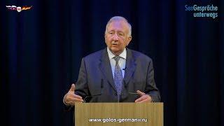 Вилли Виммер: США уже давно поделили Украину и Прибалтику [Голос Германии]