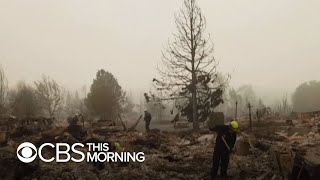 Oregon wildfire death toll reaches at least 8 as crews search for survivors