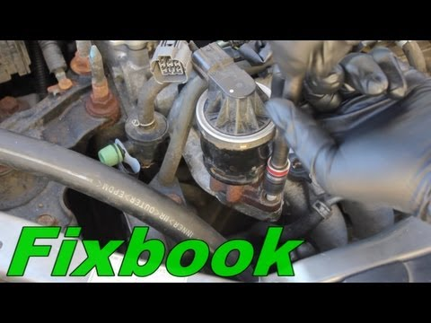 2003 Honda Civic Lx Engine Diagram Egr Valve Remove Replace Quot How To Quot Honda Civic Hybrid Youtube