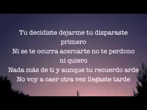 Camila - Decidiste Dejarme [LETRA Y AUDIO ORIGINAL]  2014