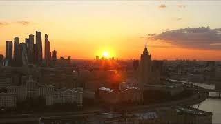 Москва. Смоленская. #НайдиСолнцеПоАзимуту