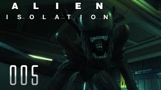 👽 ALIEN ISOLATION [005] [Überlegene Sinne] Let's Play Gameplay Deutsch German thumbnail