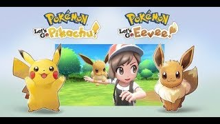 POKEMON LET'S GO PIKACHU EEVEE Gameplay Demo - Nintendo E3 2018 Showcase