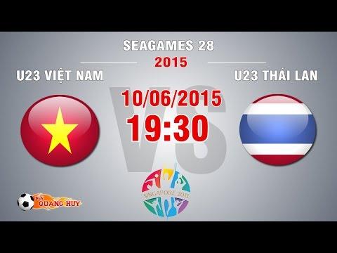 U23 Việt Nam vs U23 Thái Lan - SEA Games 28 | FULL