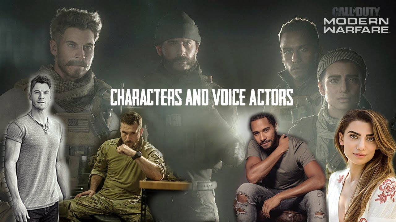 Call Of Duty Modern Warfare 2019 Voice Actors Detail Youtube