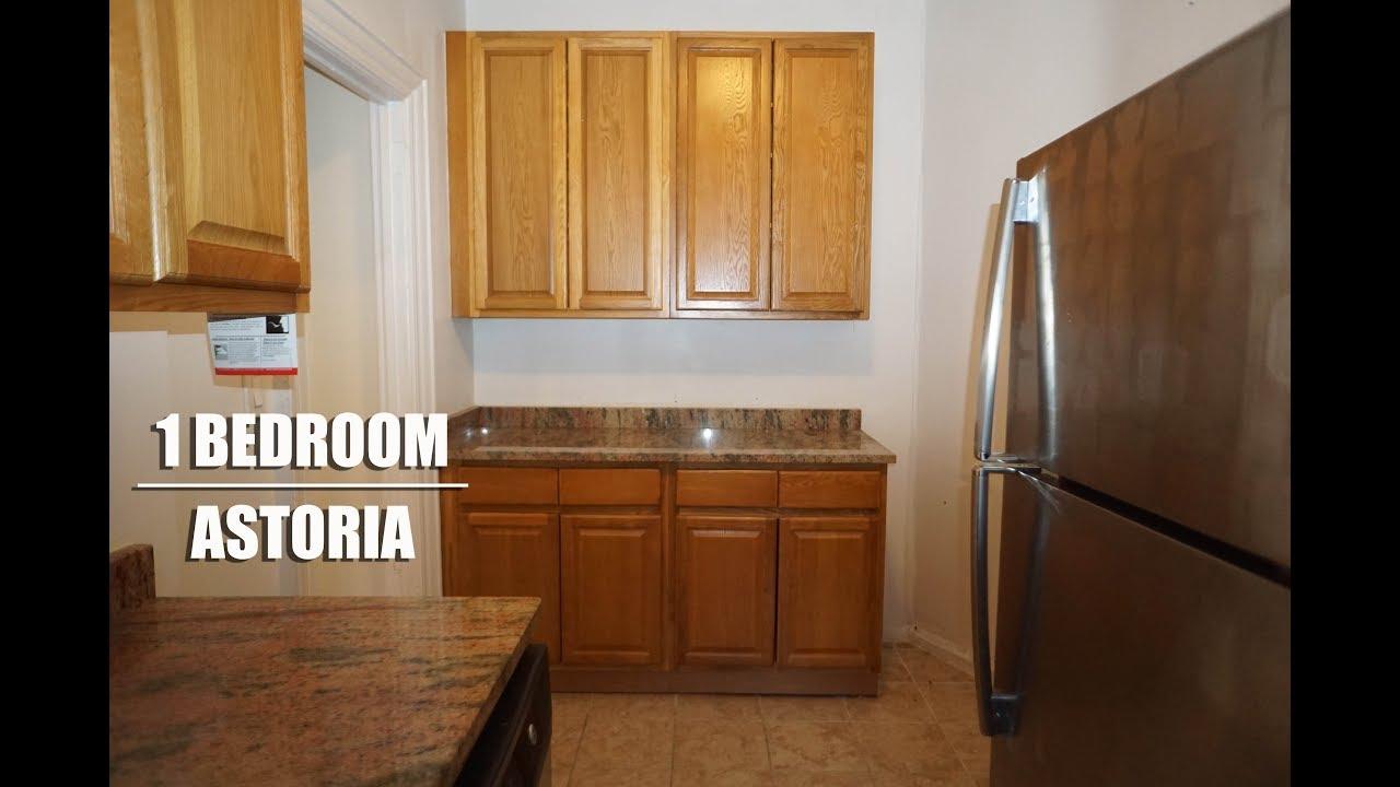 1 Bedroom apartment for rent in Astoria, Queens, nyc - YouTube