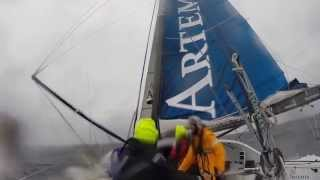 Artemis Team Endeavour 2014 Round Britain and Ireland Race