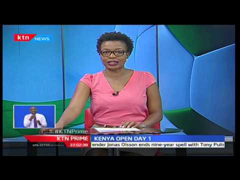 Simon Ngige leads Kenyan charge in Kenya Open day one