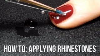 Applying Rhinestones to Your Nail Art