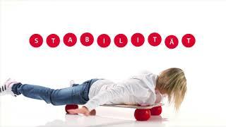 Produktvideo zu Gleichgewichtstrainer mit vier Bällen Togu Balanza Ballstep