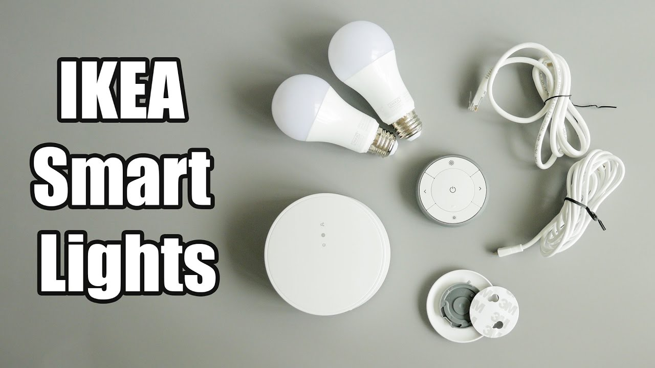 ikea 39 s cheap smart lights ikea tradfri tr dfri gateway kit youtube. Black Bedroom Furniture Sets. Home Design Ideas