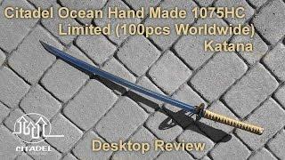 Citadel Ocean hand made Katana