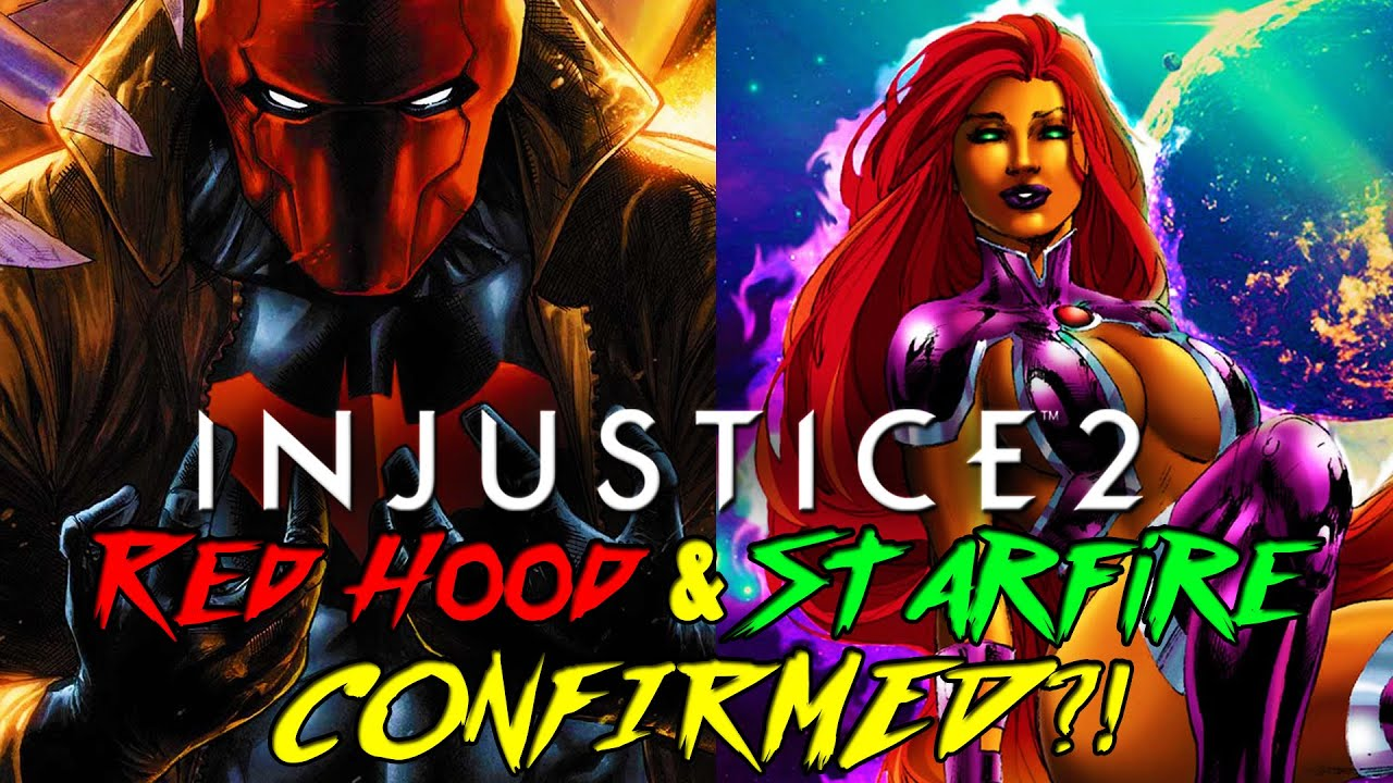 Injustice 2 - Red Hood & Starfire CONFIRMED!? - YouTube