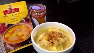 Chicken Yellow Curry : Thai Food Recipe by Mae Ploy [Chinese Sub]
