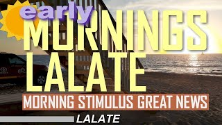 FINALLY! $1400 THIRD STIMULUS CHECK 3 & THIRD STIMULUS PACKAGE UPDATE! | EARLY MORNINGS LALATE 6 AM