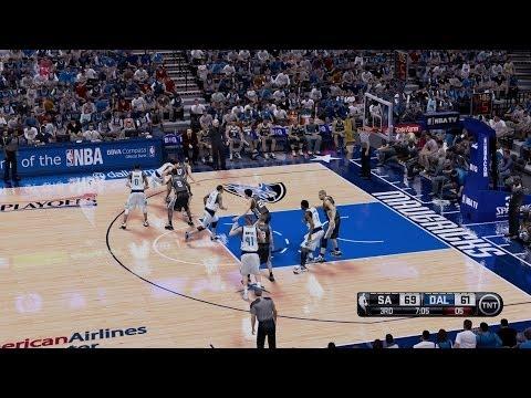 NBA Playoffs Game 3 San Antonio Spurs VS Dallas Mavericks