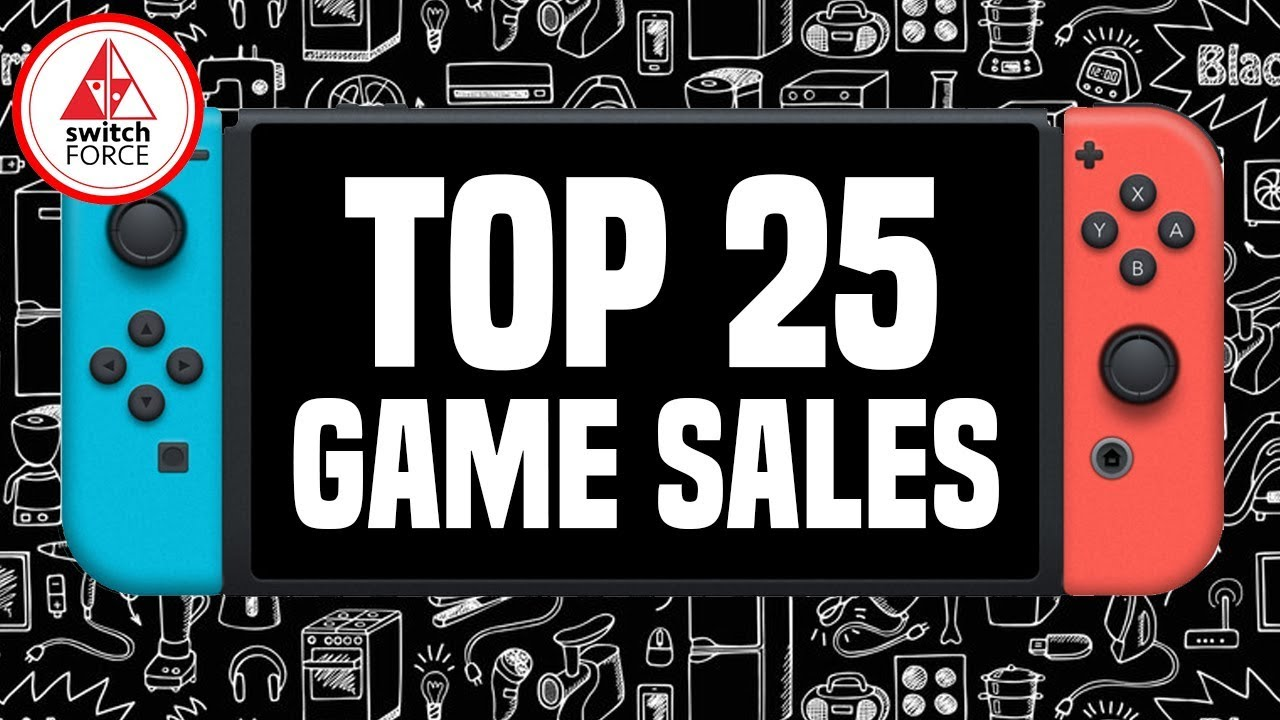 Top 25 Nintendo Switch Games For Black Friday 2018