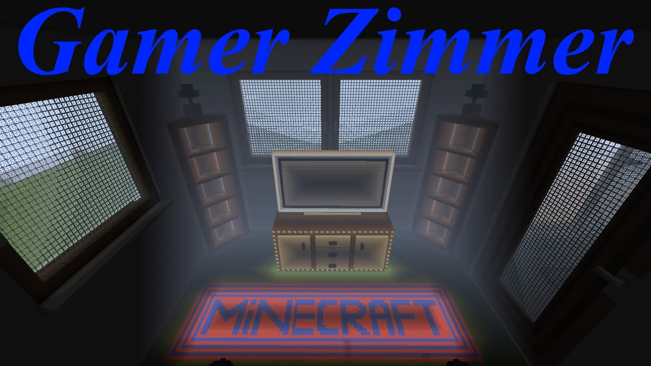 minecraft gamer zimmer gr tes projekt mein eigenes haus ps4 deutsch youtube. Black Bedroom Furniture Sets. Home Design Ideas